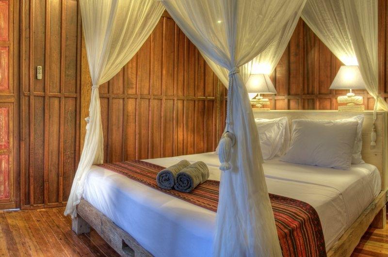 Four Poster Bed - Villa Sama Lama - Gili Trawangan, Lombok