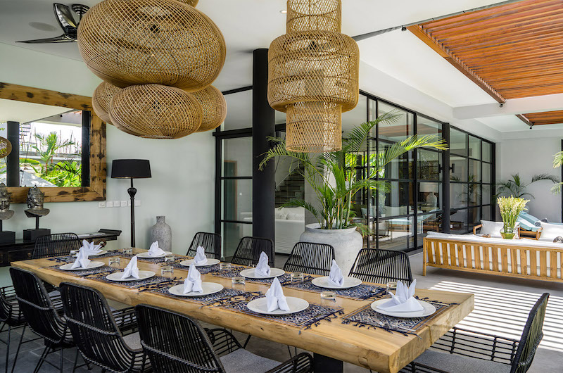 Indoor Dining Area - Canggu Beachside Villas - Canggu, Bali