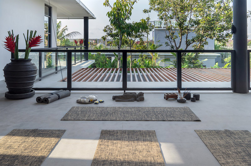 Yoga Area - Canggu Beachside Villas - Canggu, Bali