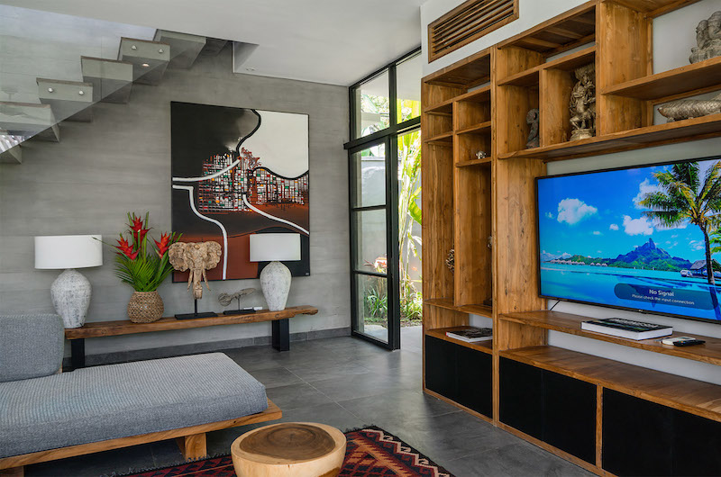 Lounge Area with TV - Canggu Beachside Villas - Canggu, Bali