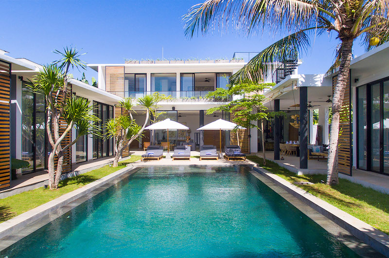 Pool Side - Villa Vida - Canggu, Bali