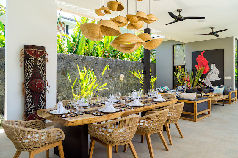 Living and Dining Area - Villa Vida - Canggu, Bali