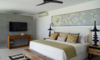 Bedroom with TV - Villa Vida - Canggu, Bali