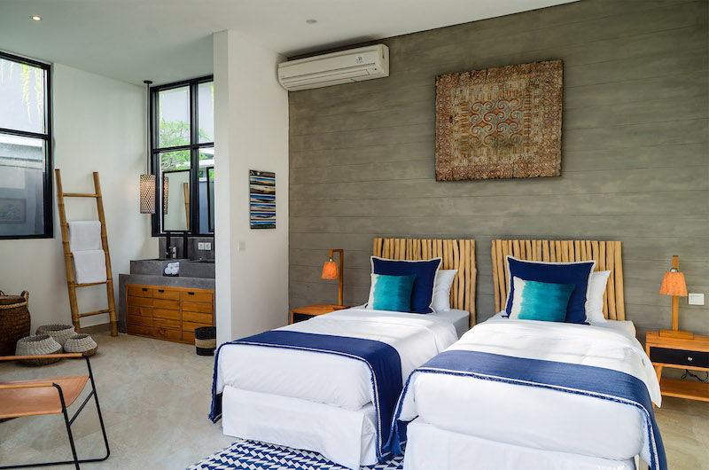 Twin Bedroom - Canggu Beachside Villas - Canggu, Bali