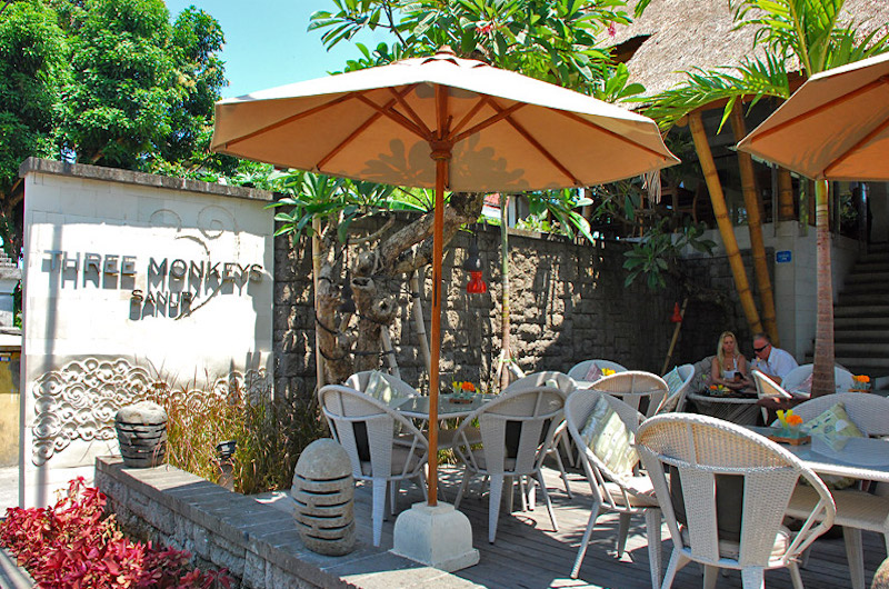Three Monkeys Cafe | Sanur, Bali