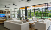 Indoor Living Area with Pool View - Villa Gu - Canggu, Bali