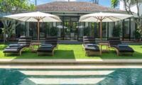 Sun Beds - Villa Iluka - Seminyak, Bali