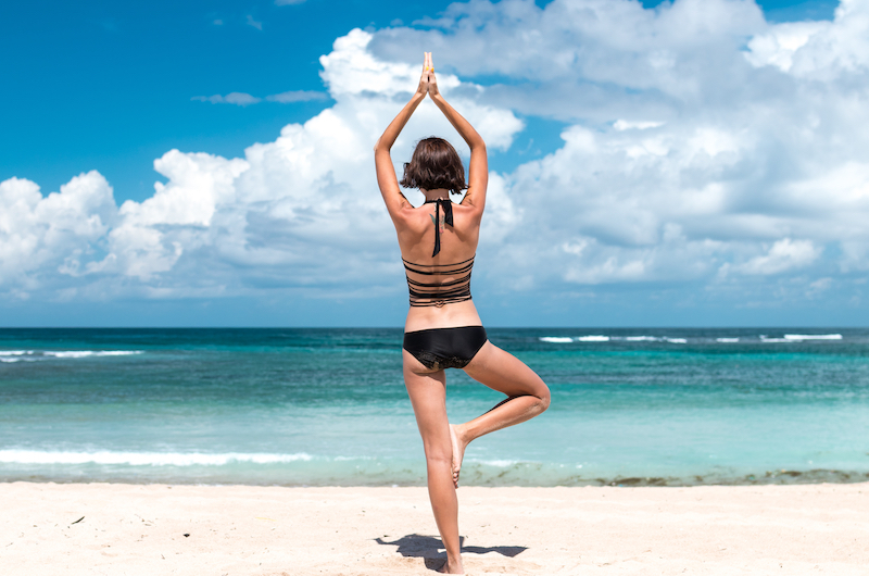 Yoga on the Beach | Nusa Lembongan, Indonesia