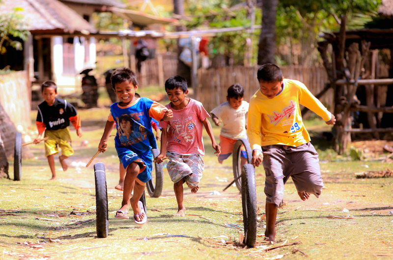 Children Playing | Lombok, Indonesia