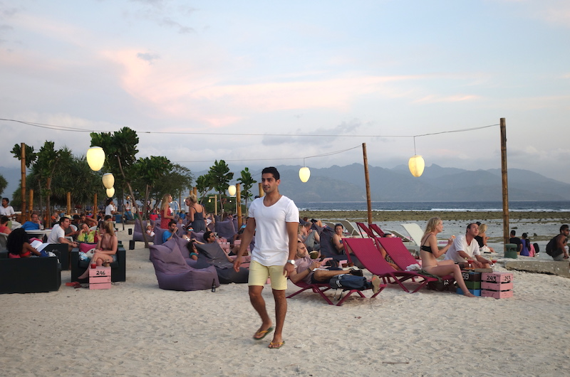 Beach Bar Sunset | Lombok
