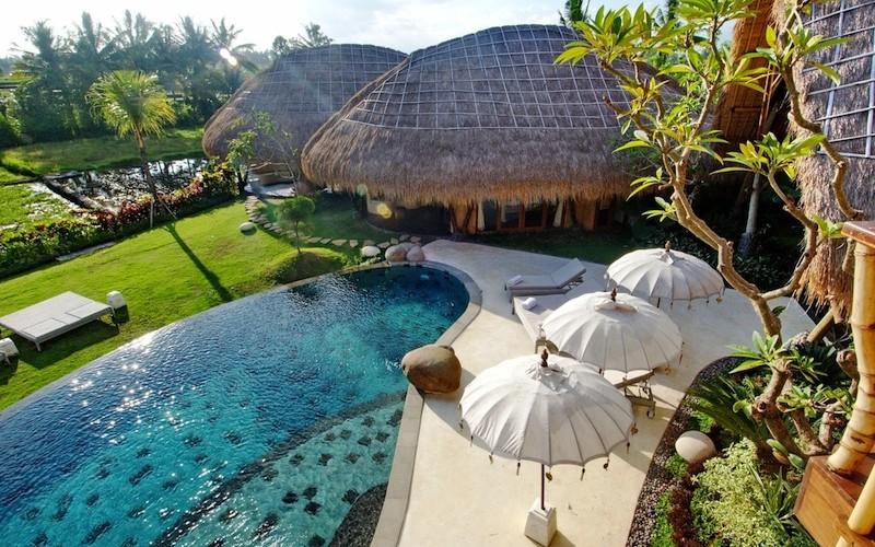 Villa Omah Padi Pool Area | Ubud, Bali