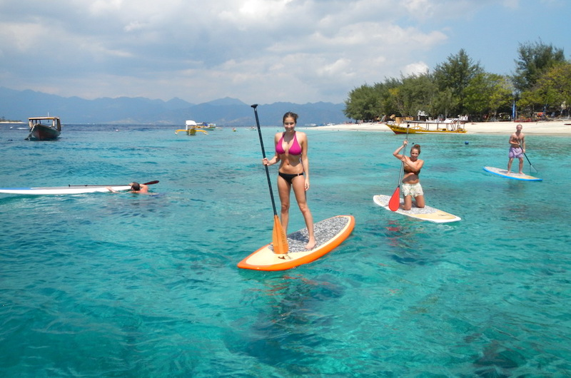 Gili Islands Stand Up Paddle Board 04