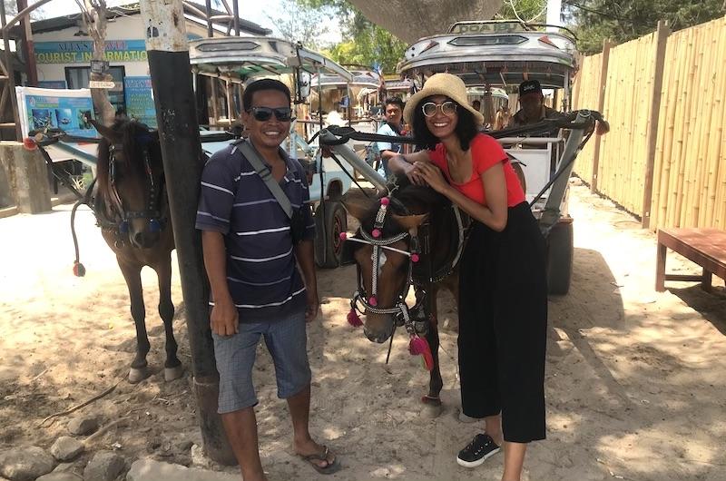 Horse and Cart | Gili Meno, Lombok